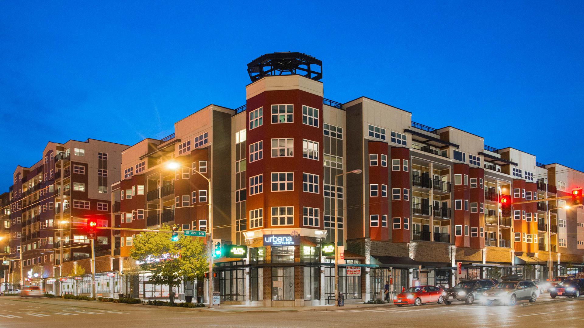 Urbana Apartments - Exterior