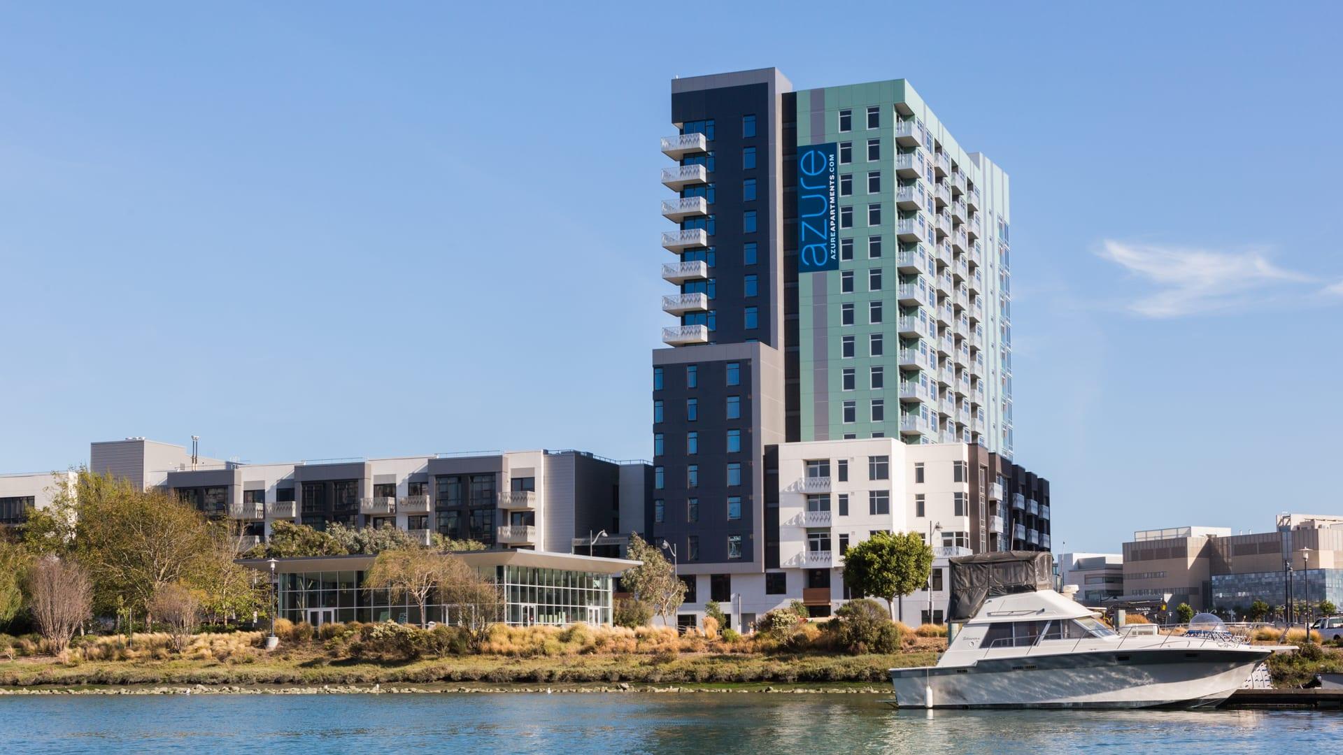 Azure Apartments - Building
