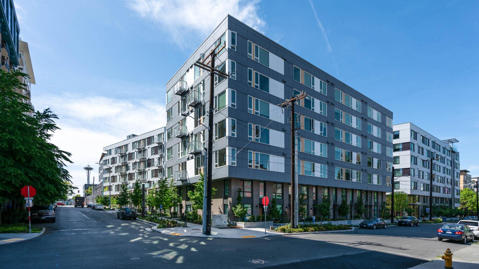 Cascade Apartments - Exterior