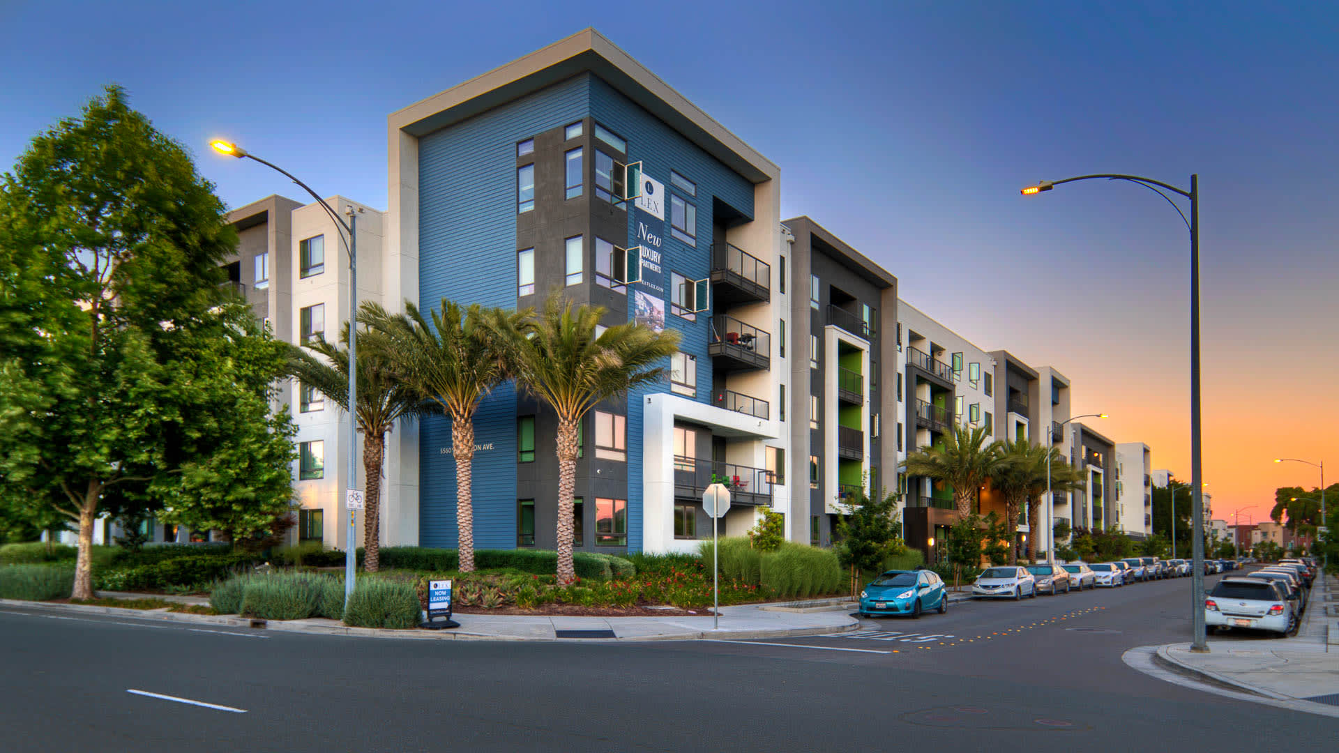 The Lex Apartments - Exterior