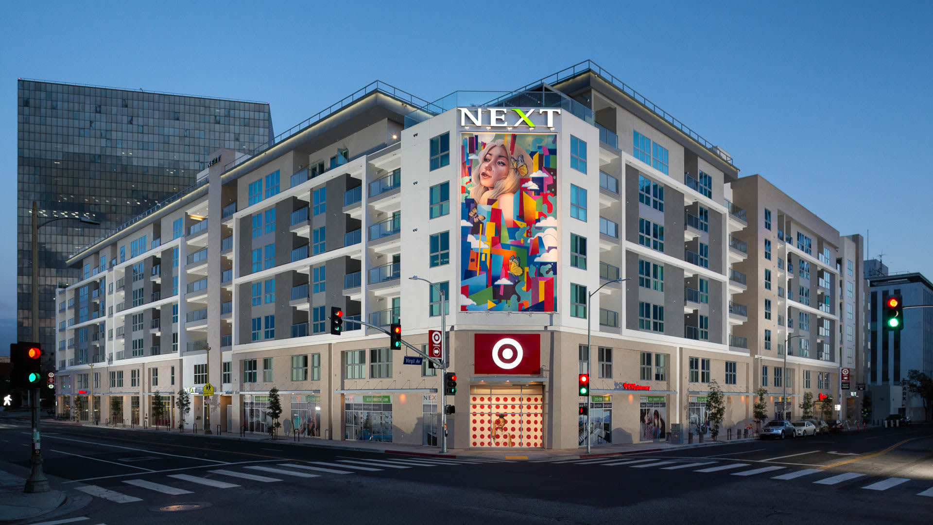 Next on Sixth Apartments - Exterior