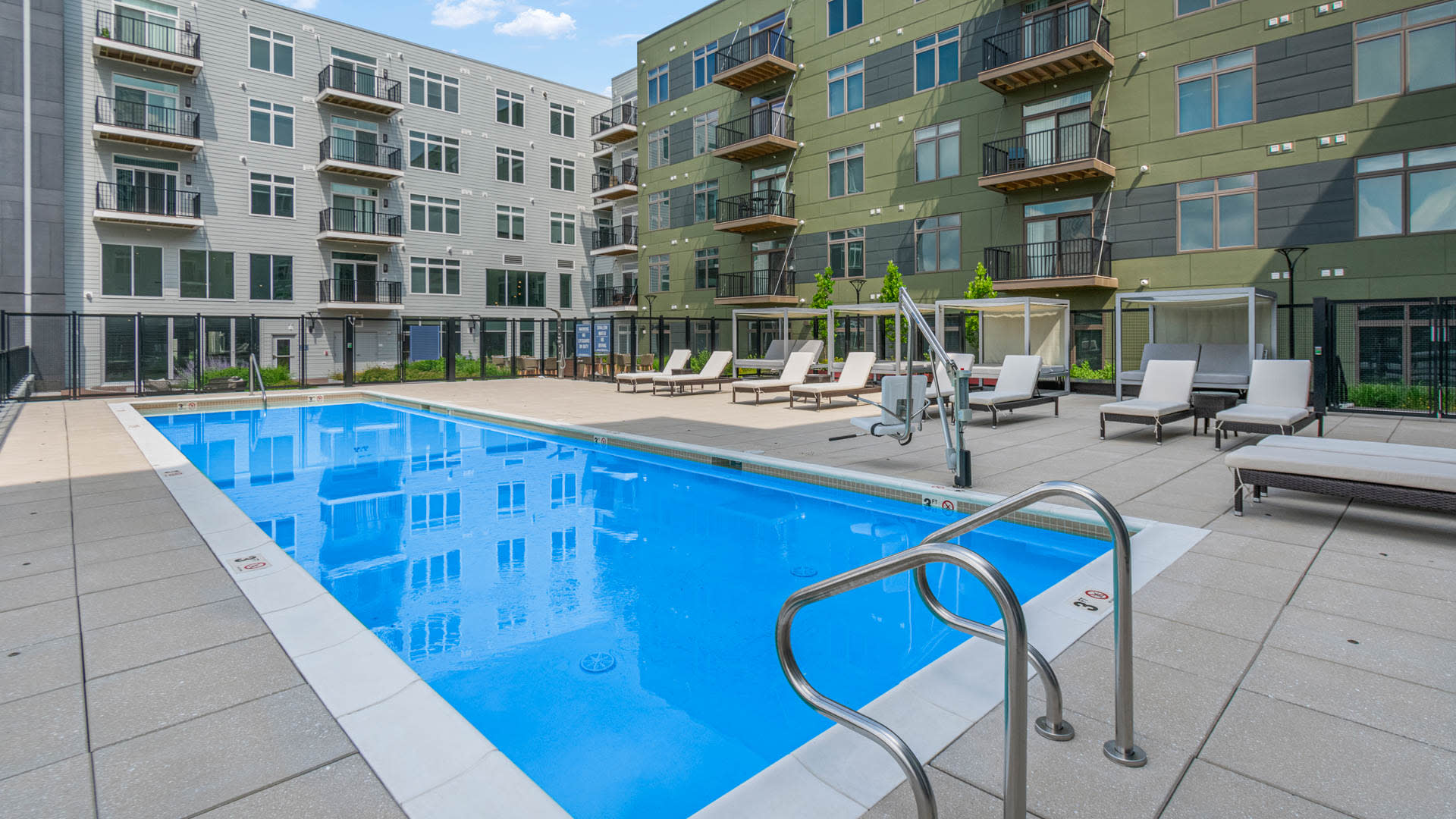 The Reserve at Burlington Apartments - Swimming Pool