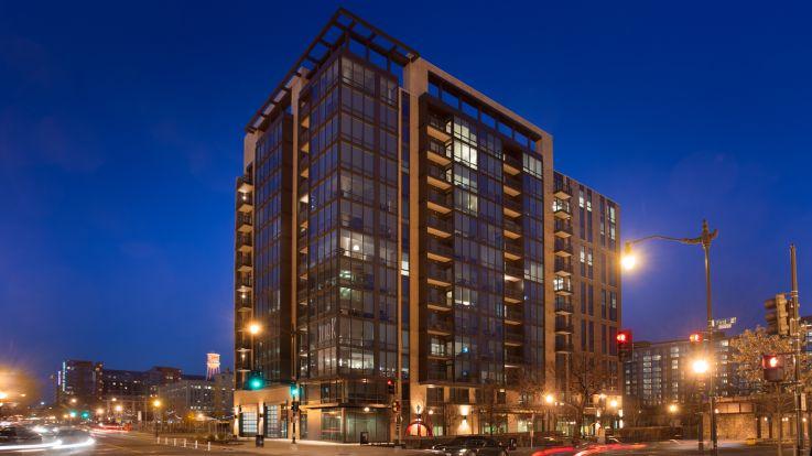 100K Apartments - Building Exterior