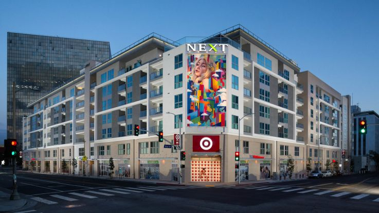 Next on Sixth Apartments - Exterior