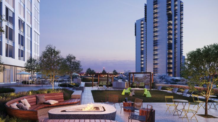 Alcott Apartments - Outdoor Terrace