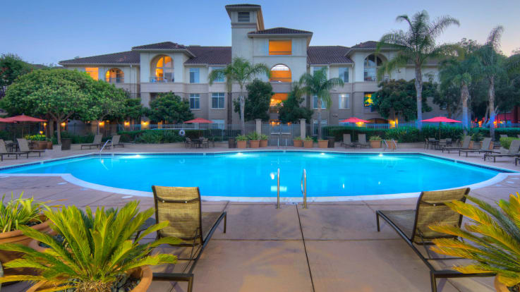 Park Place at San Mateo Apartments - Swimming Pool