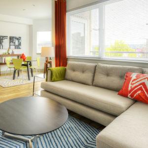 Urbana Apartments In Ballard 1501 Nw 56th Street - Apartment-living-room-design