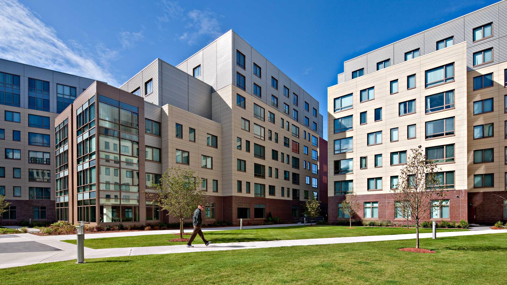 Third square apartments building