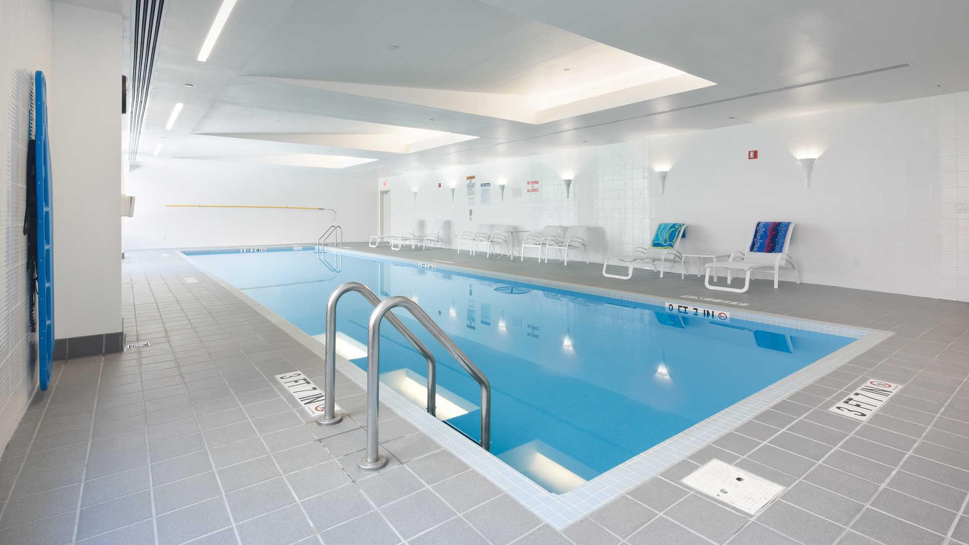 Third square apartments swimming pool