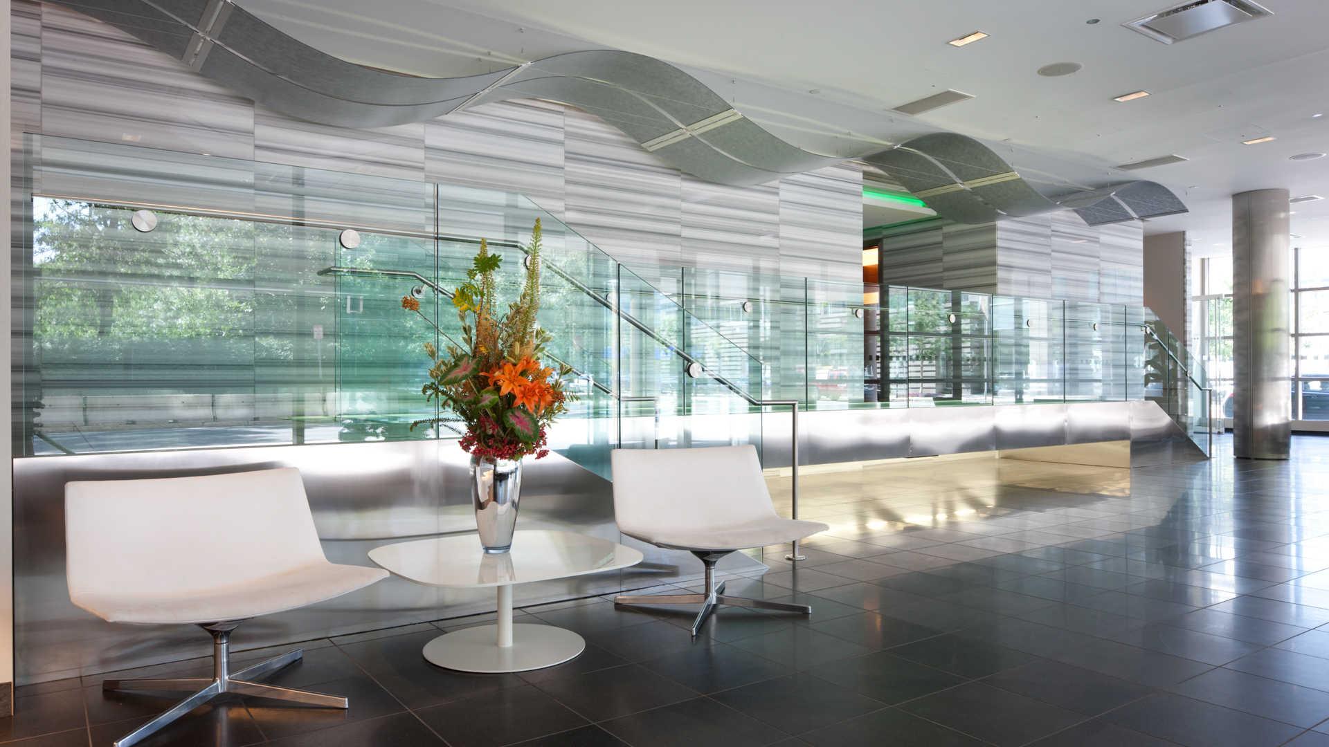Third square apartments lobby