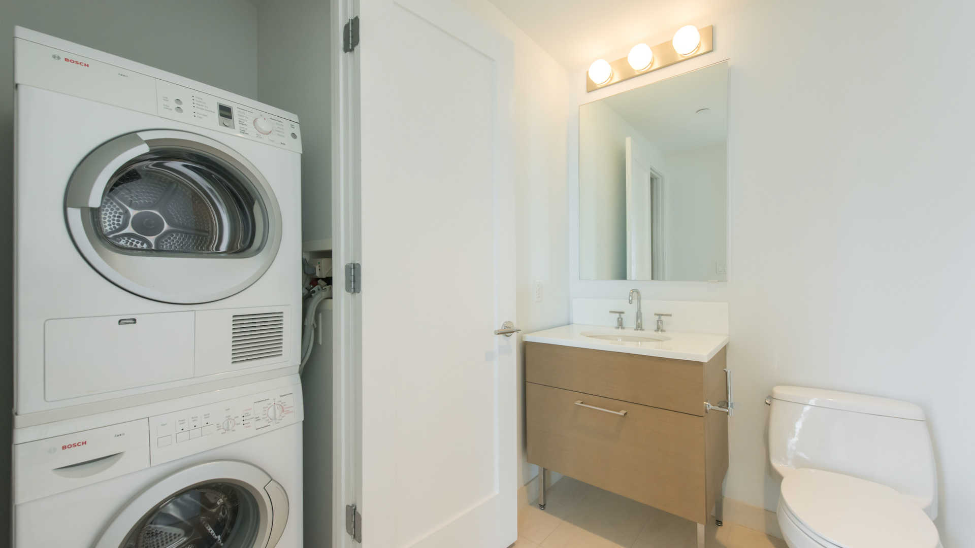 Third square apartments washer and dryer