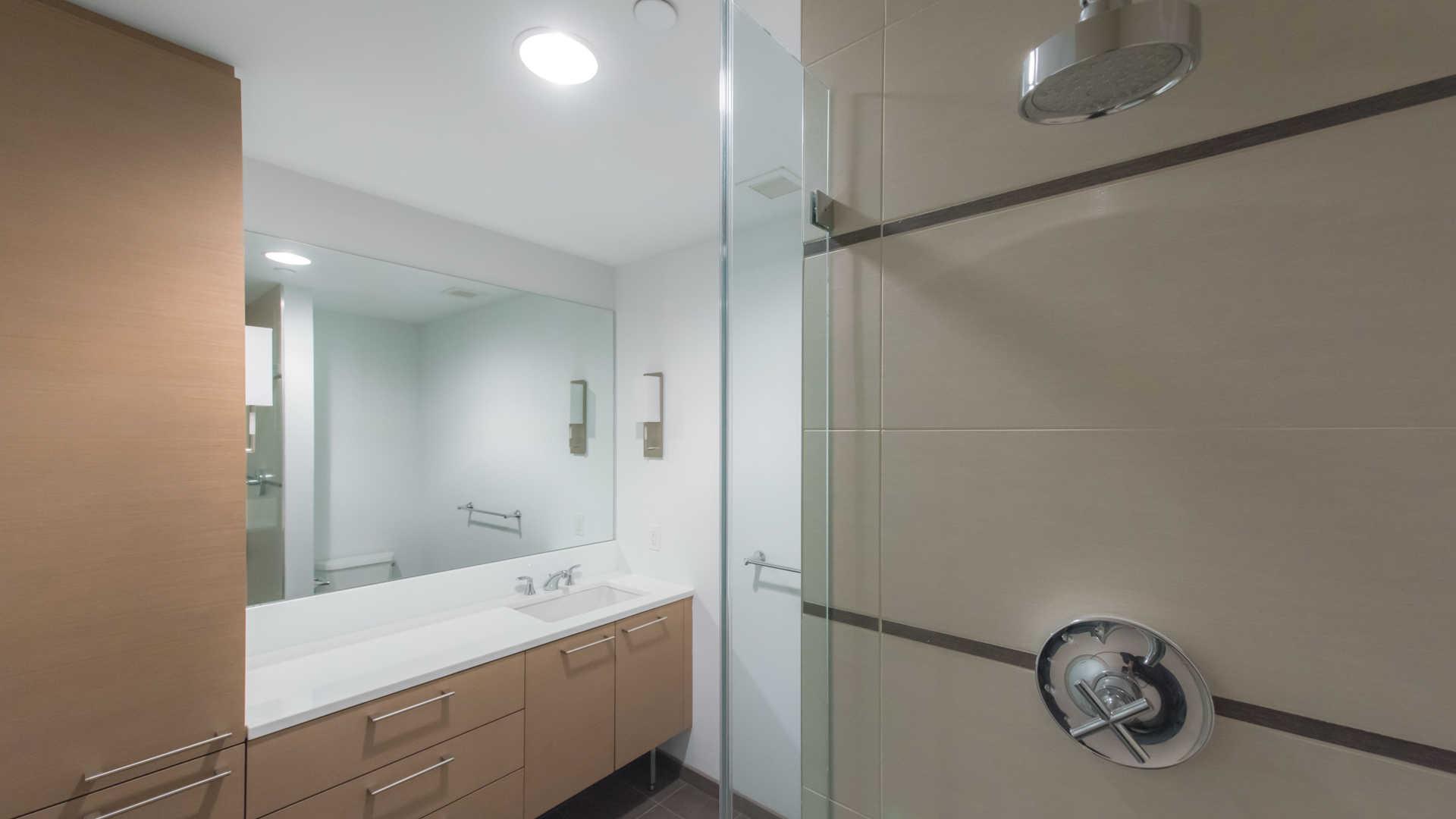 Third square apartments bathroom