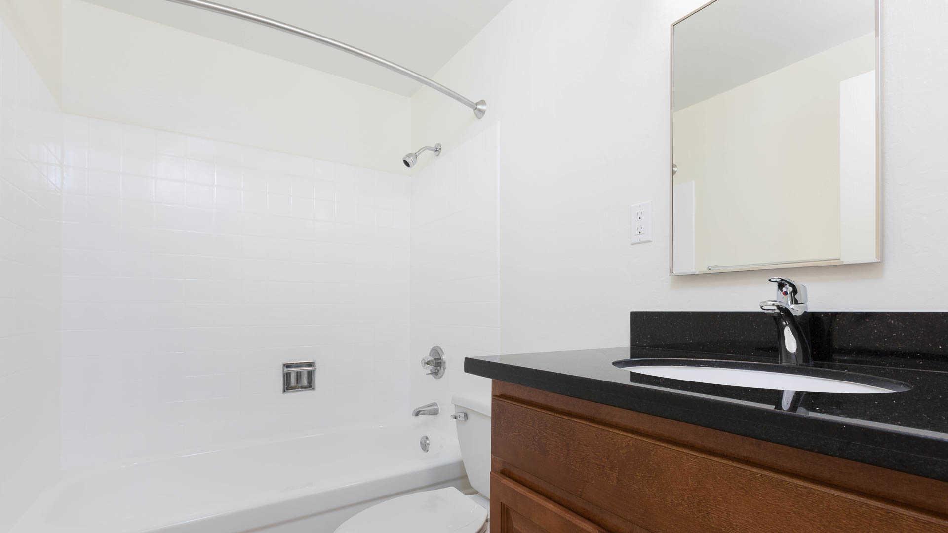 The terraces apartments bathroom