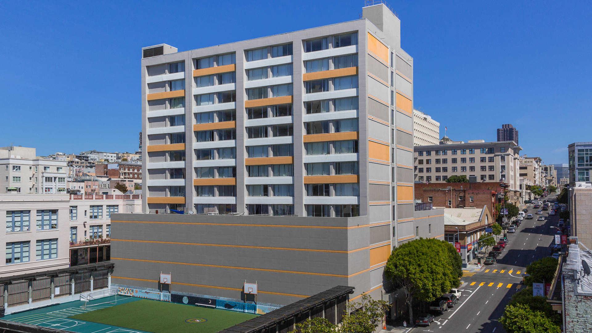 The terraces apartments exterior