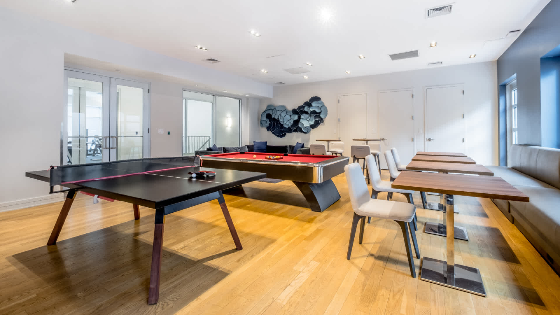 175 kent apartments game room