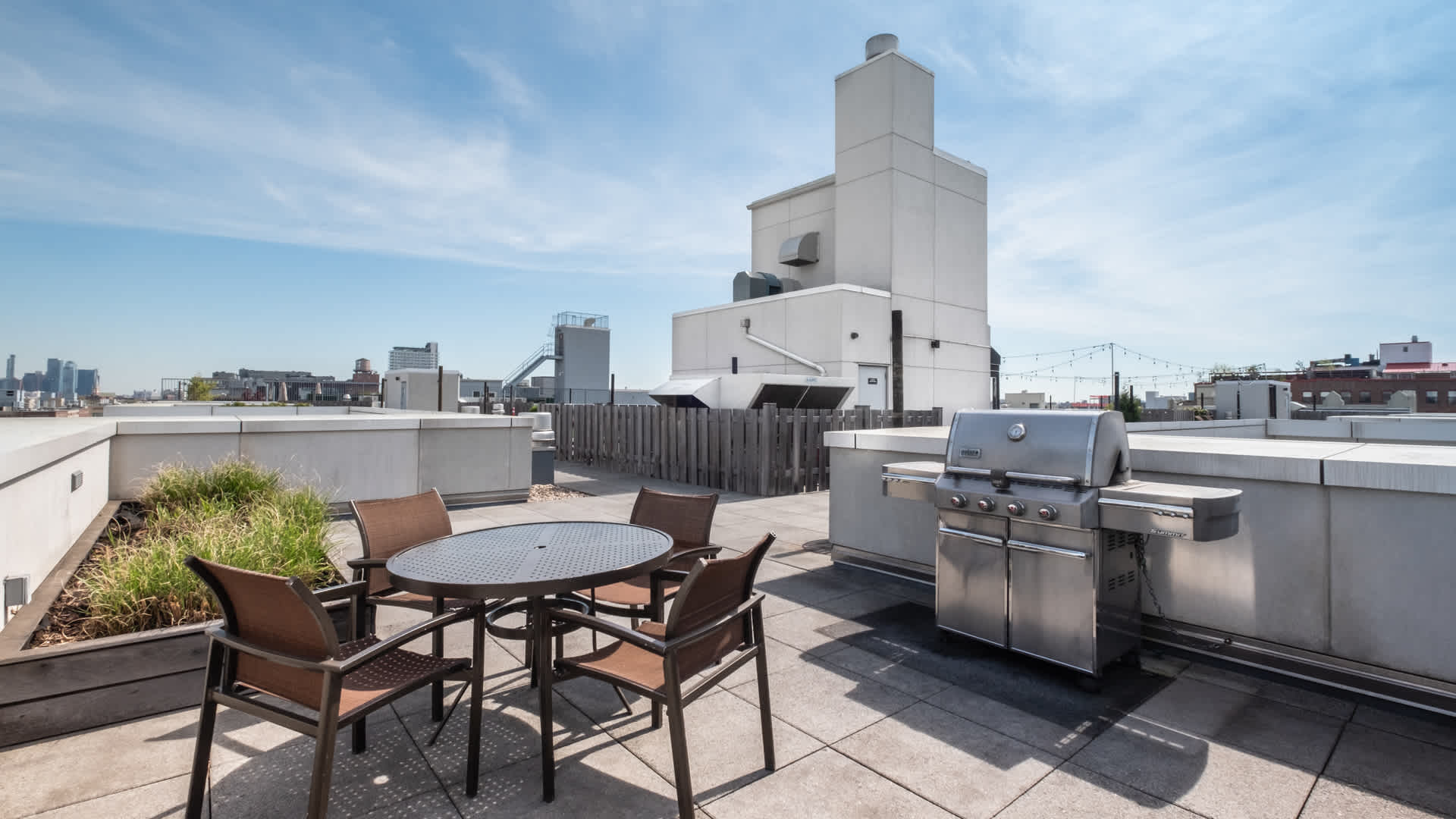 175 kent apartments roof deck