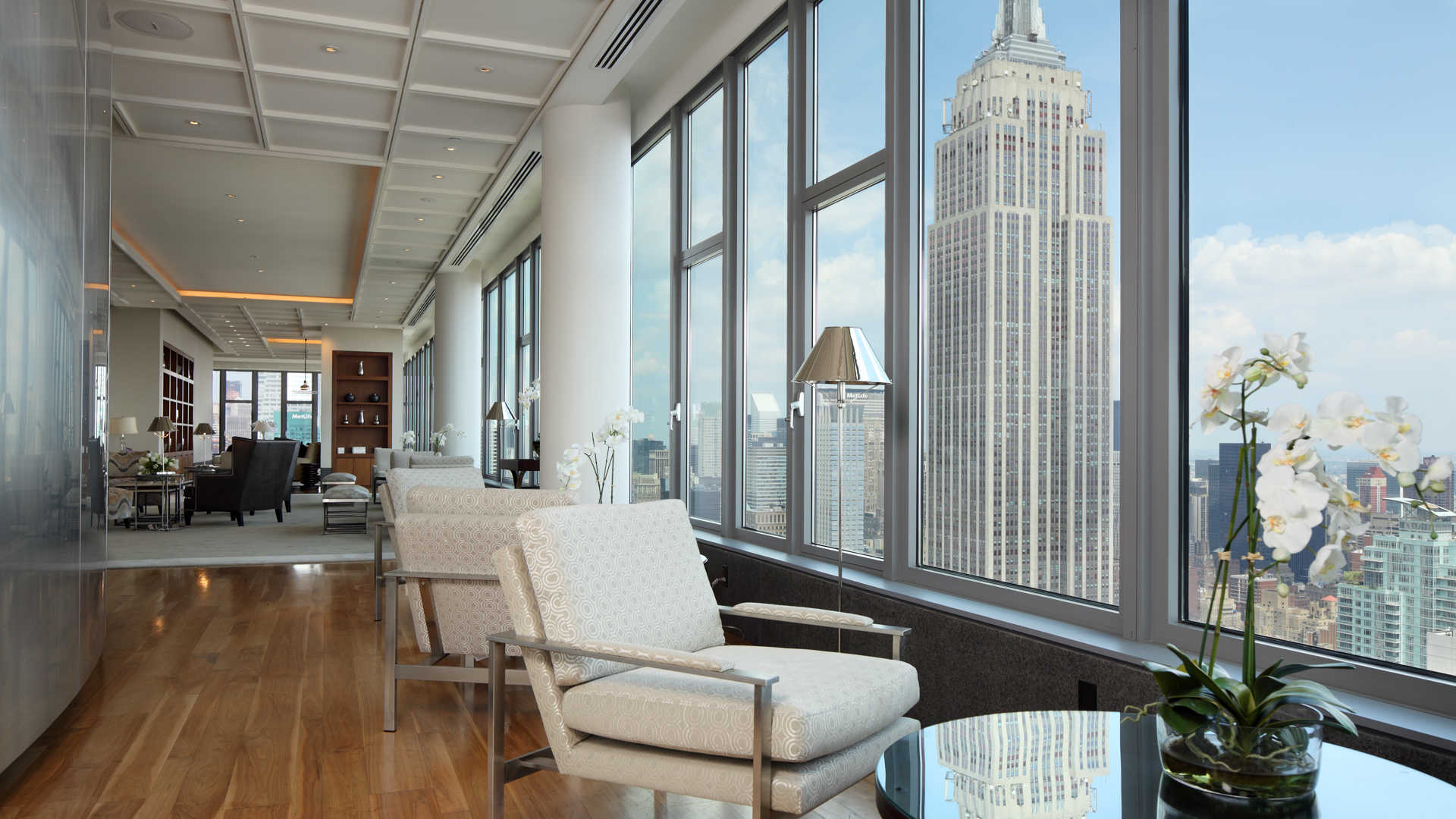 Cloud Lounge with View of Empire State Building