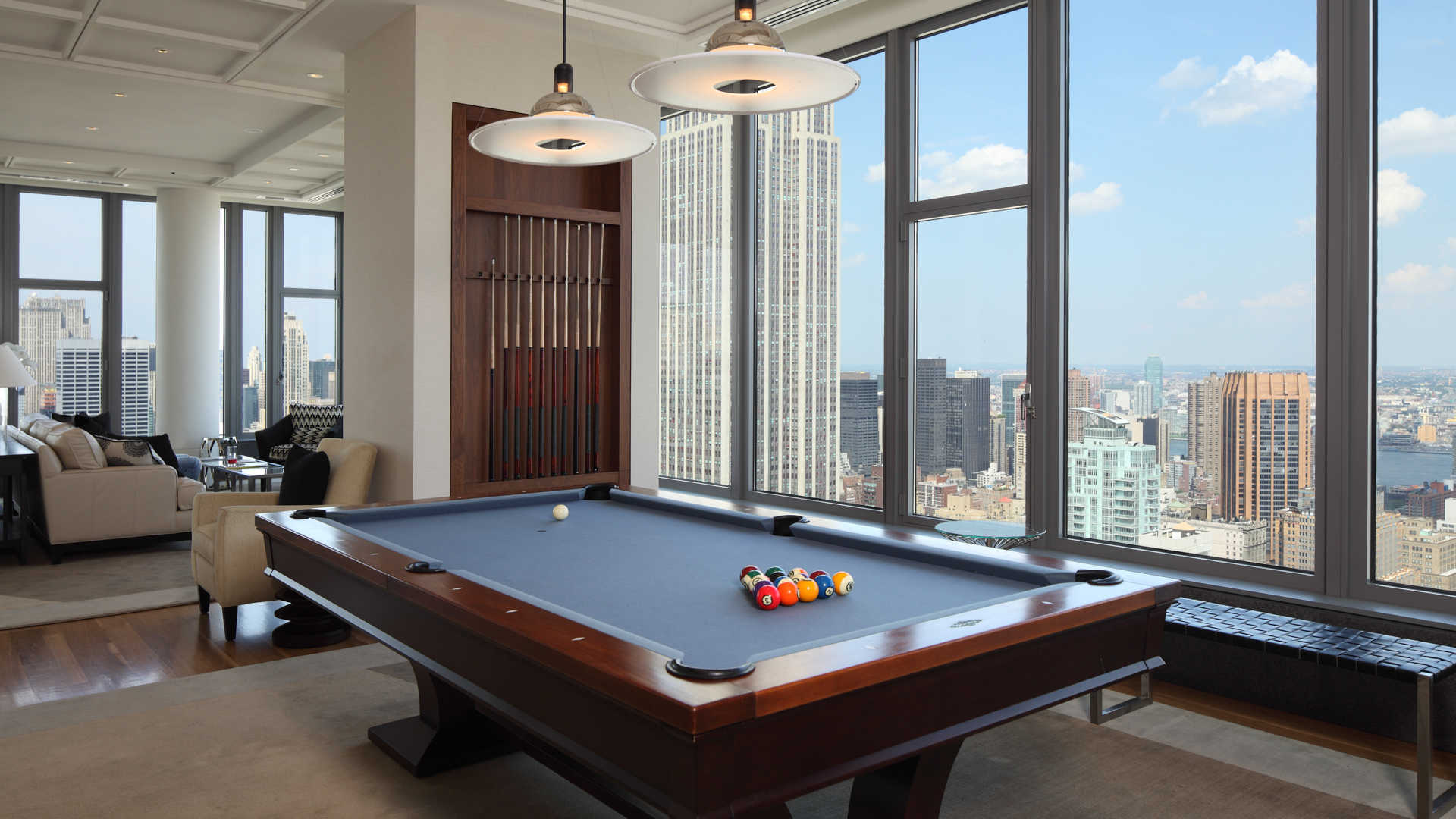 Cloud Lounge with Billiards