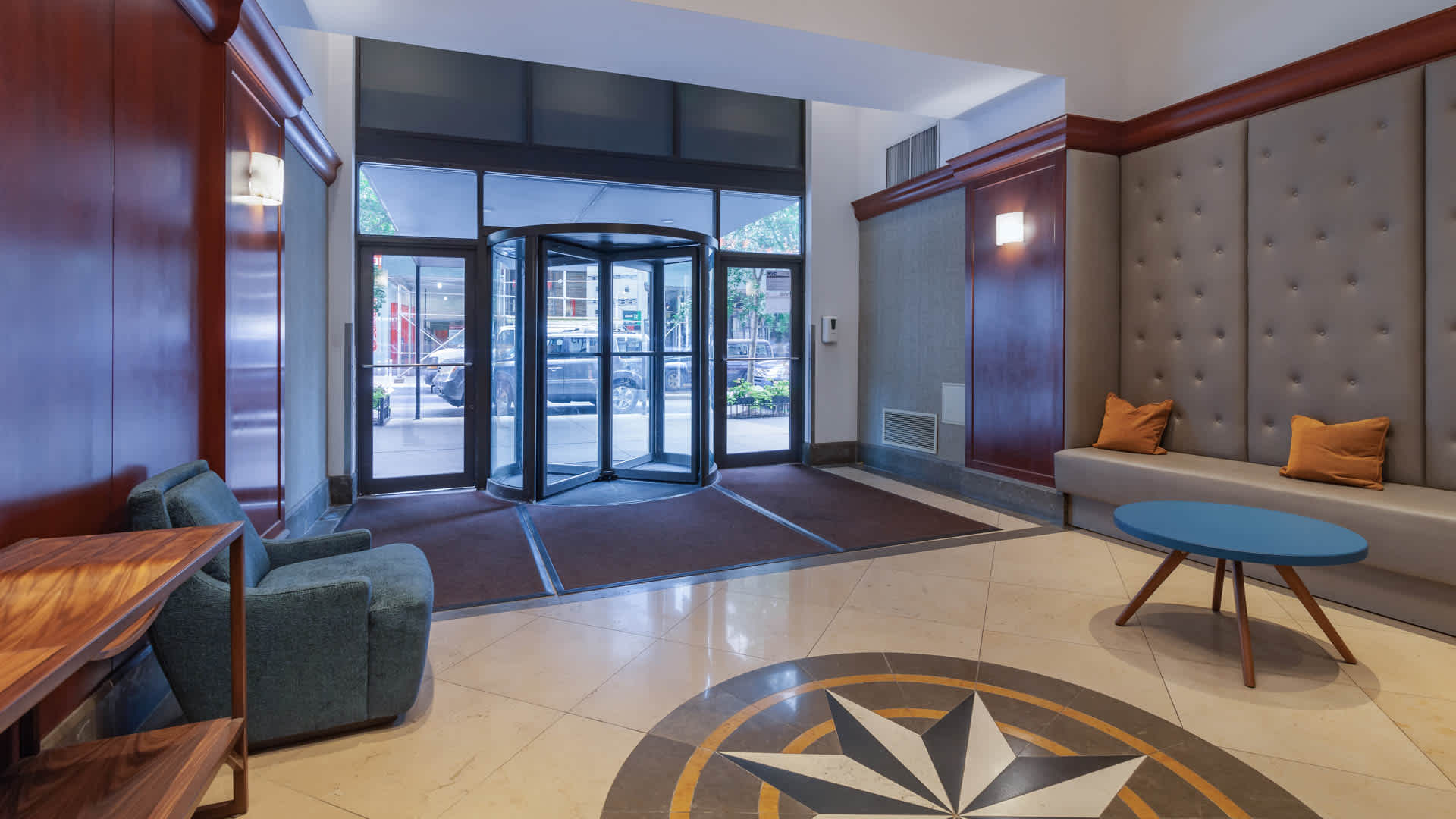 180 montague apartments lobby