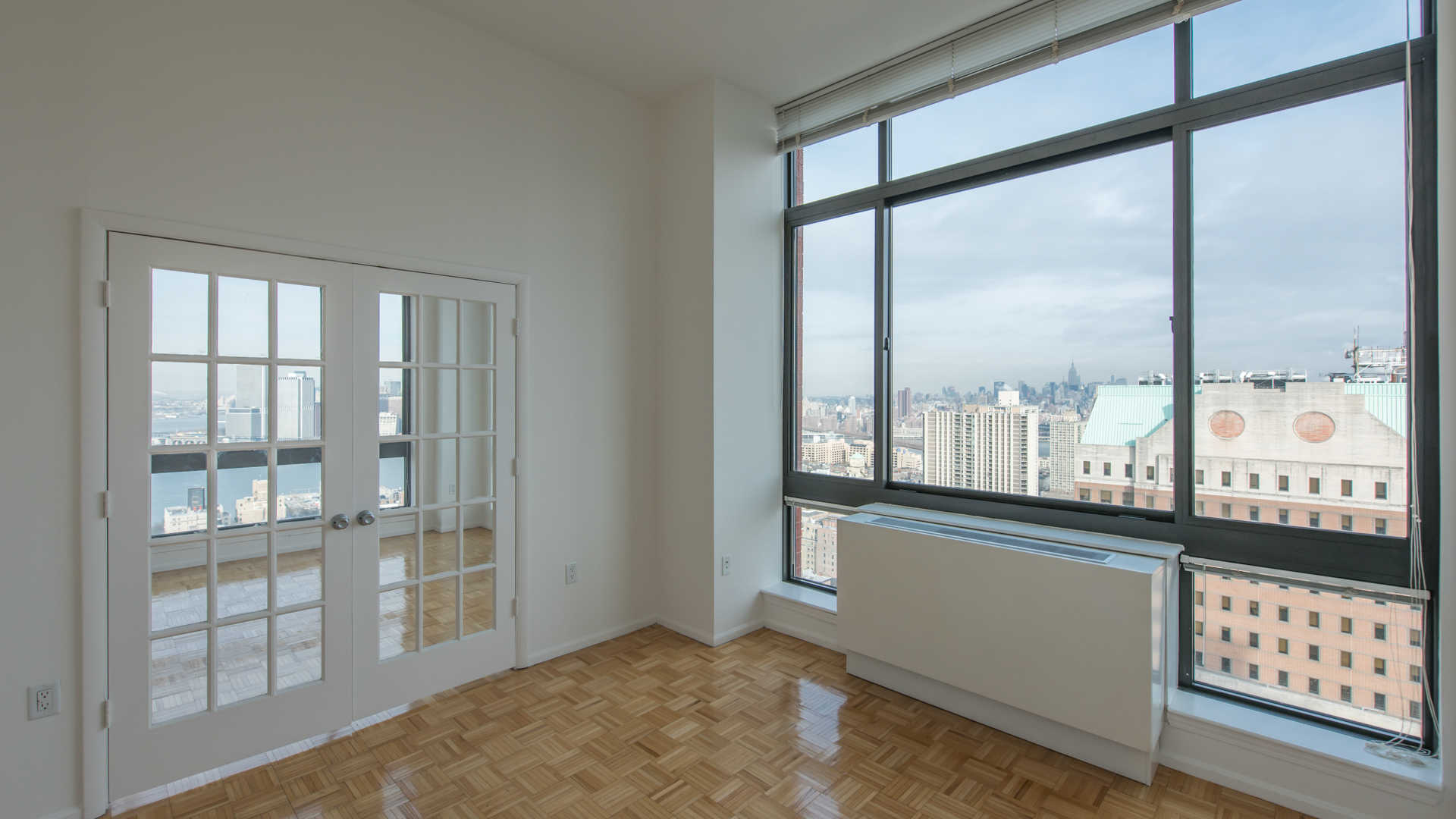 180 montague apartments bedroom with view