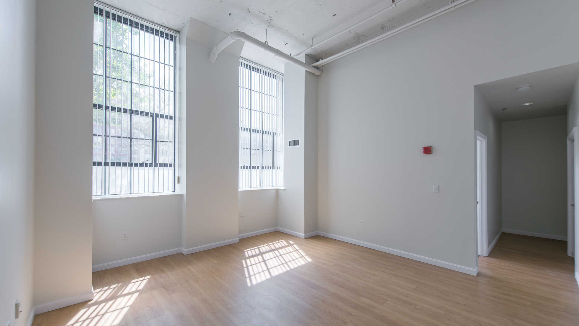 Lofts at kendall square apartments living room