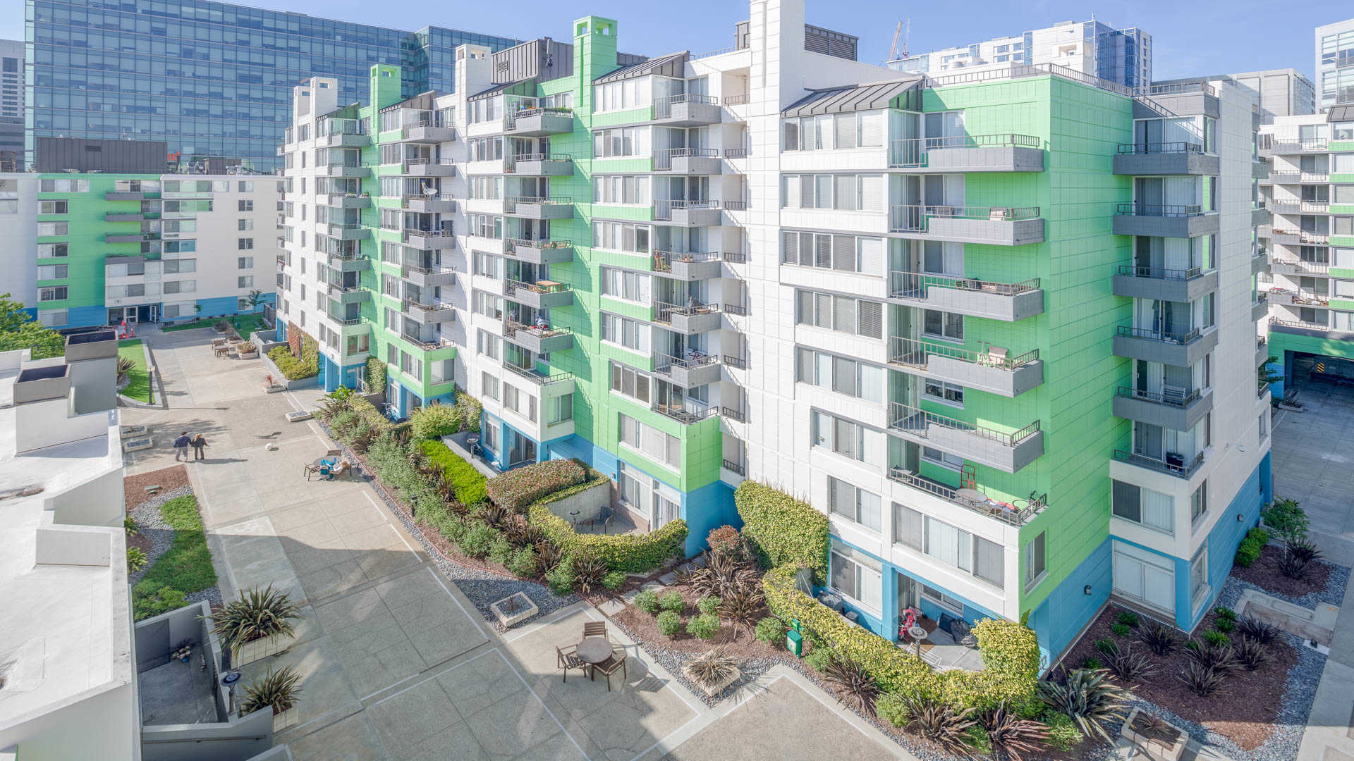 Soma square apartments exterior