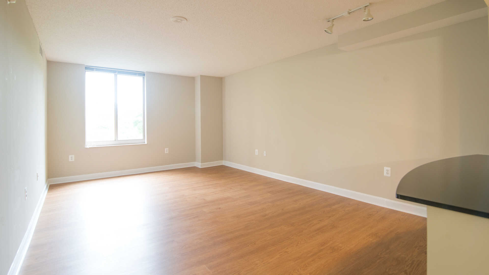 Living Room with Hard Surface Flooring