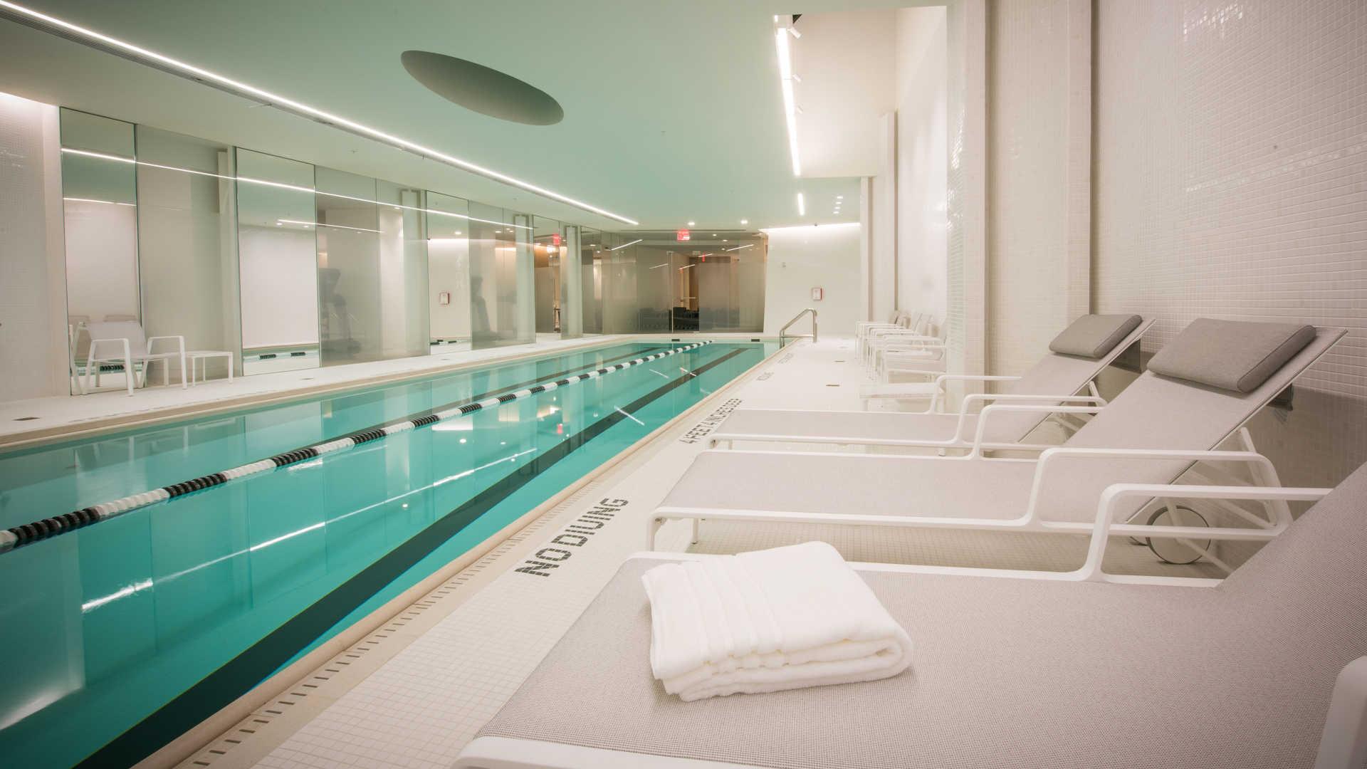 60-foot Indoor Lap Pool