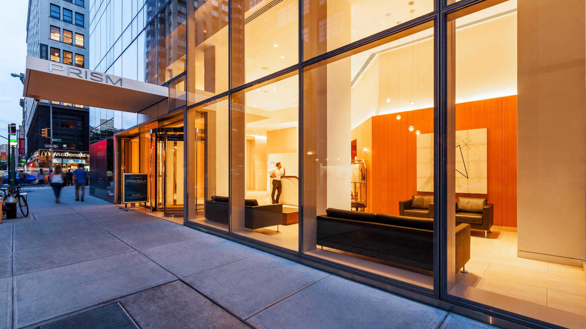 Prism at Park Avenue South Apartments Entrance