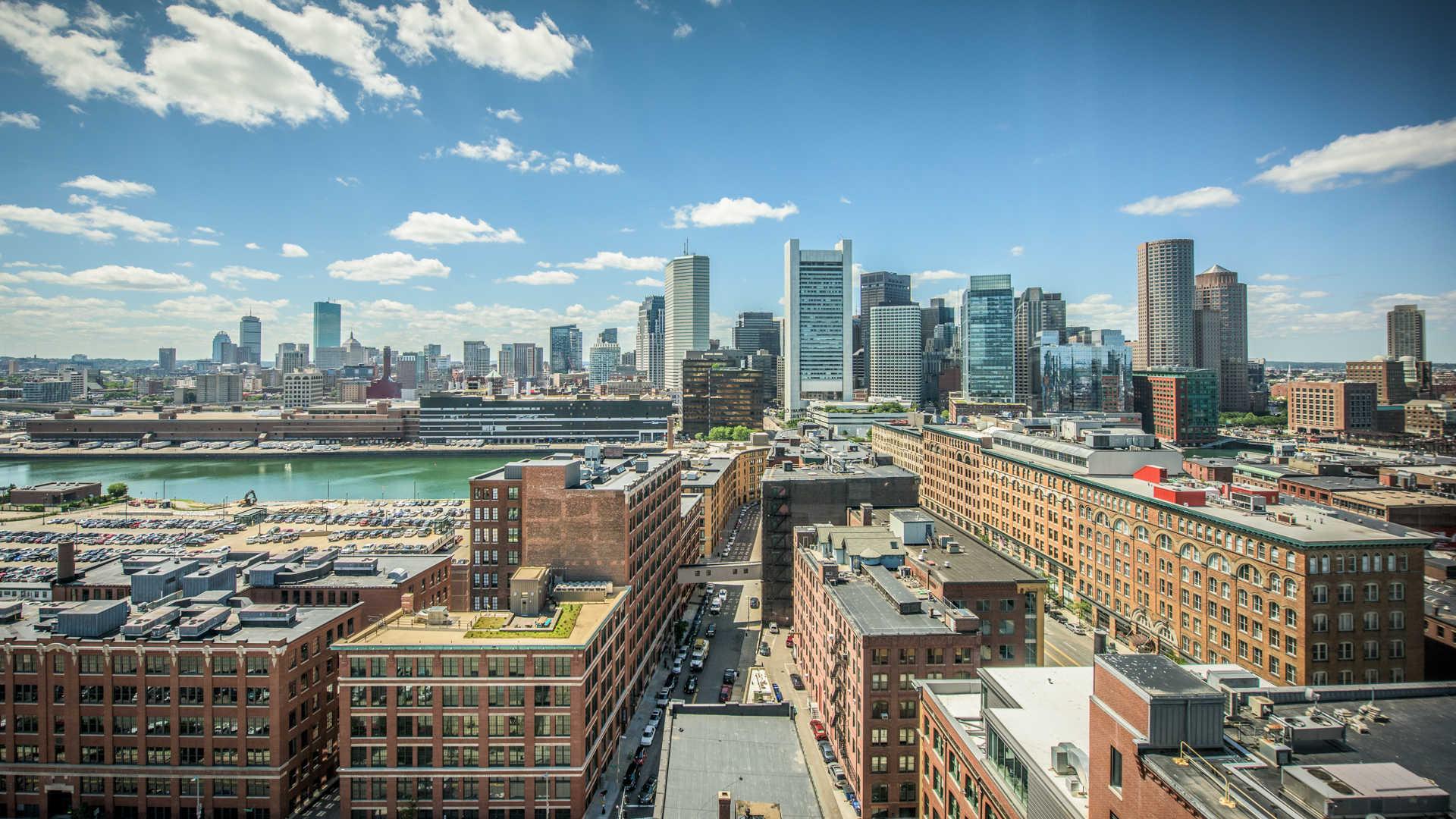 A picture of Boston