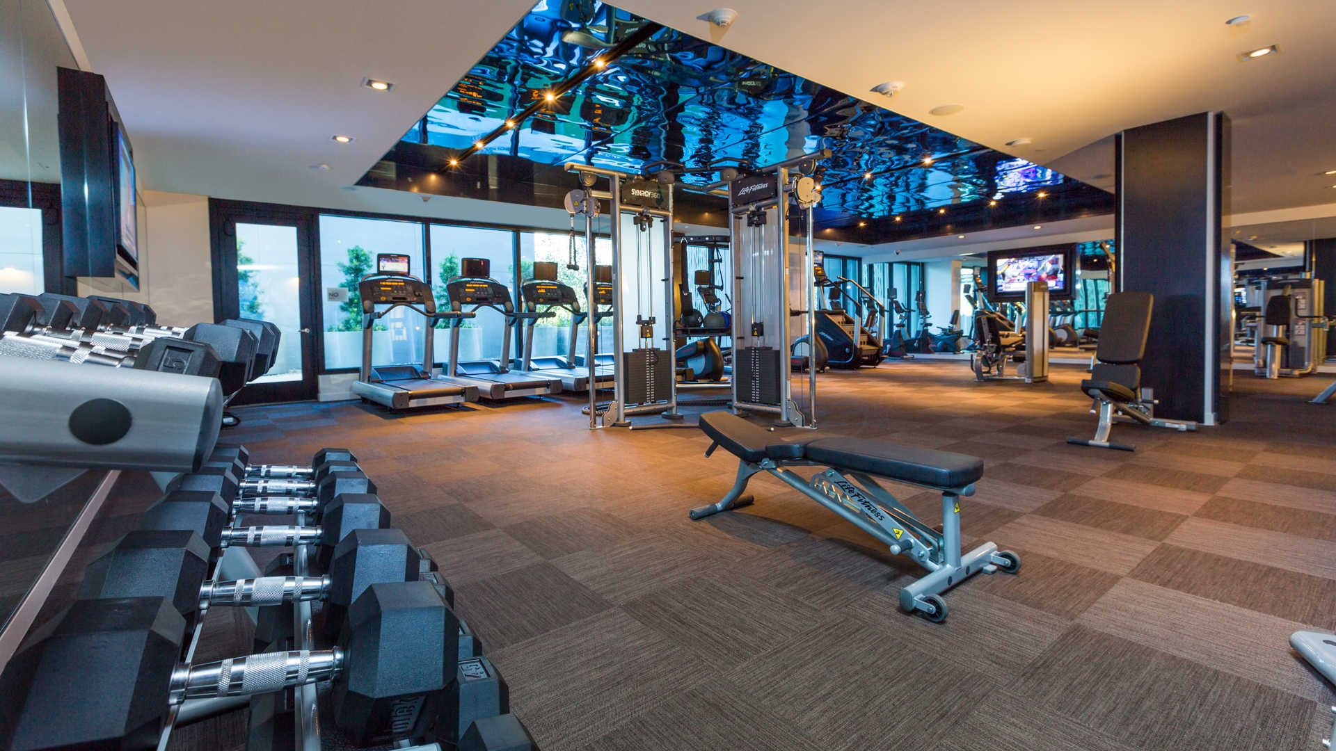 Azure apartments fitness center
