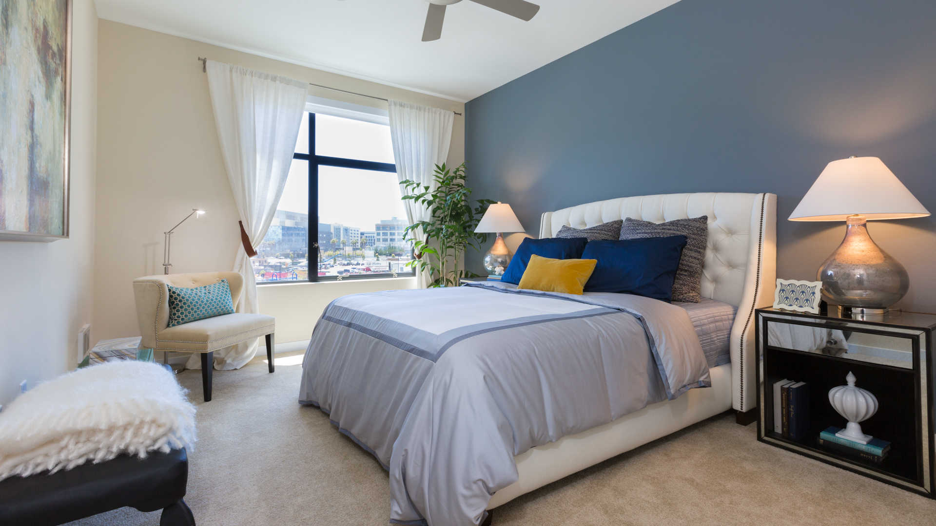 Azure apartments bedroom