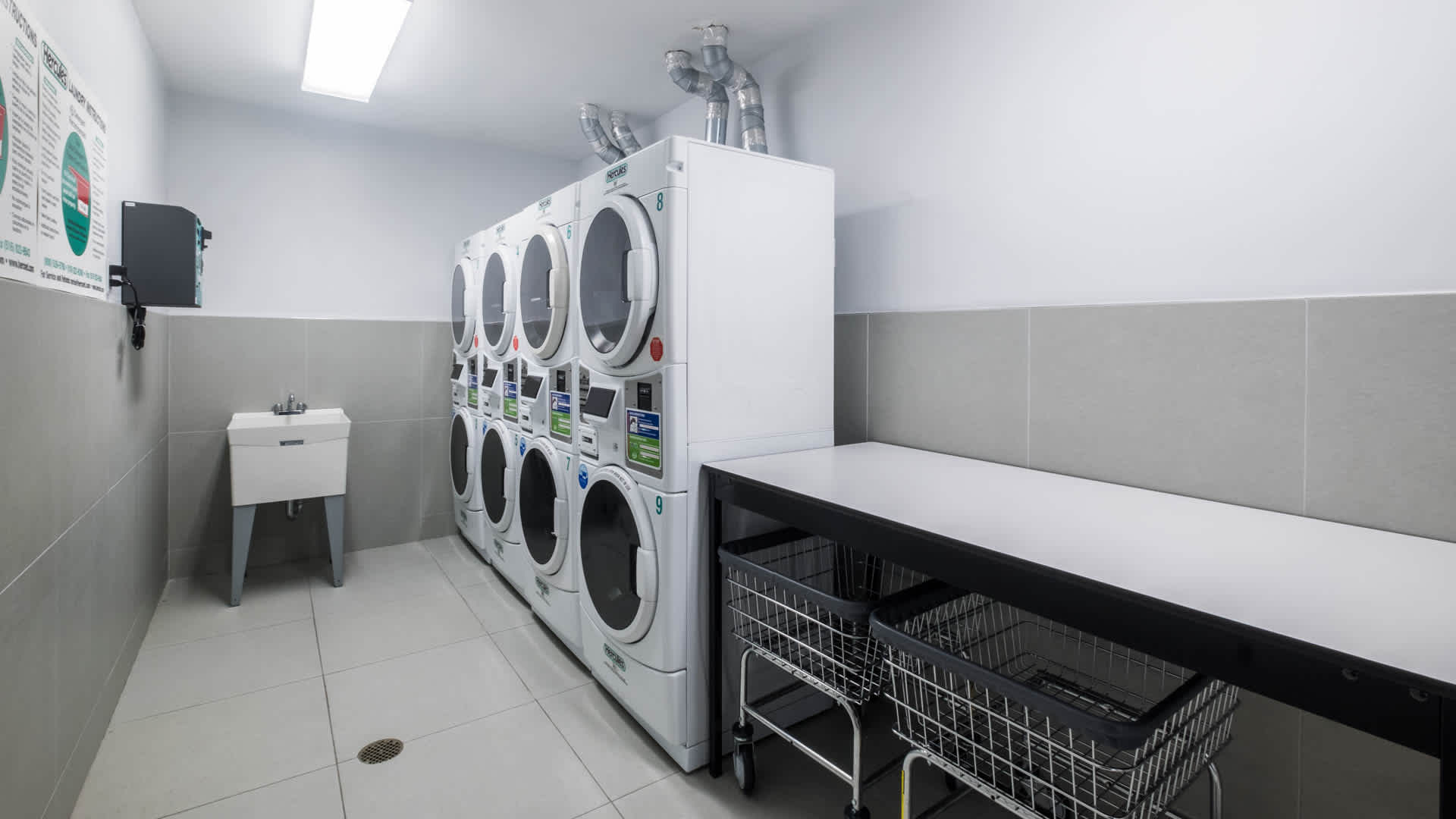Atelier apartments laundry room