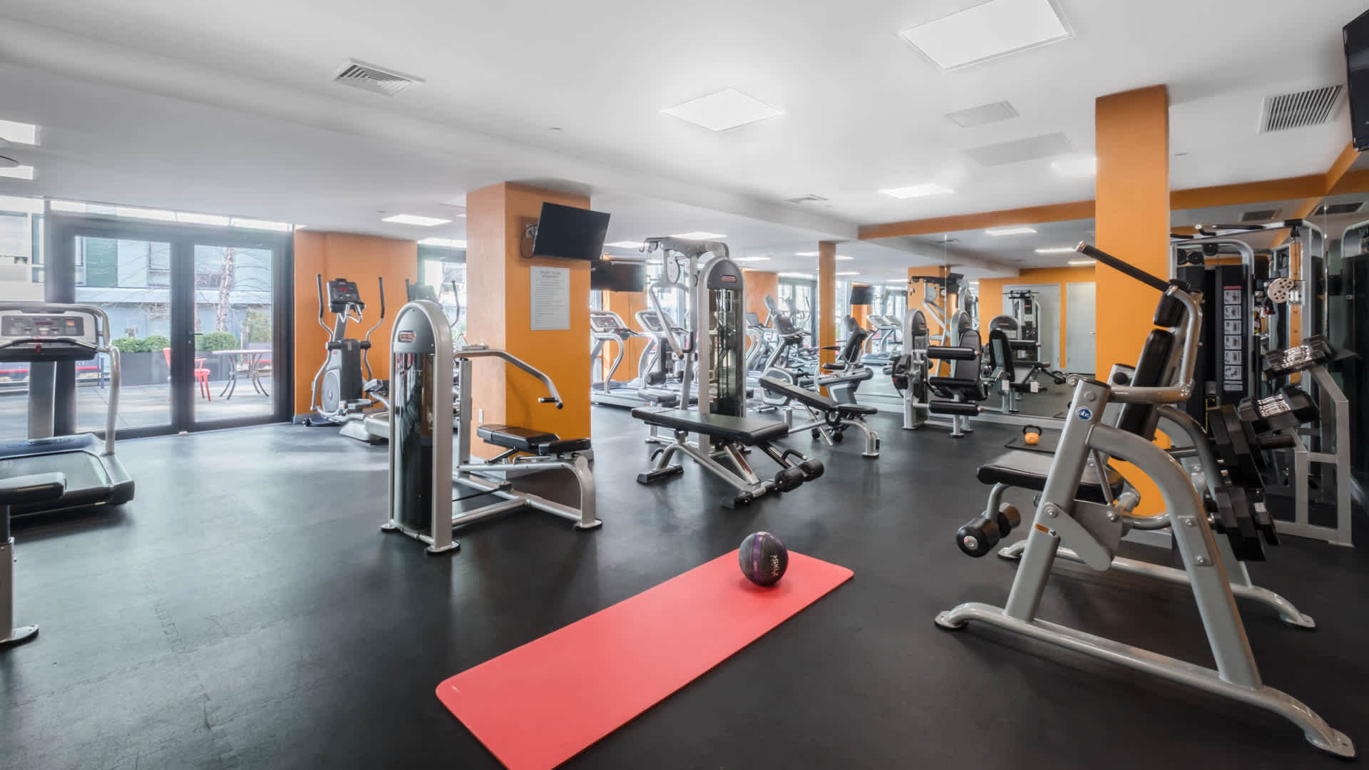 Atelier apartments fitness center