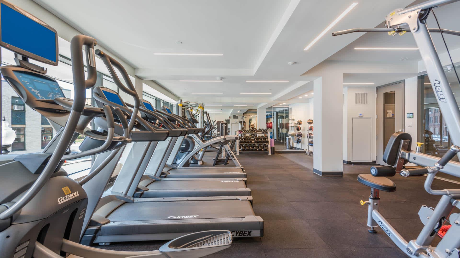 Girard apartments fitness center