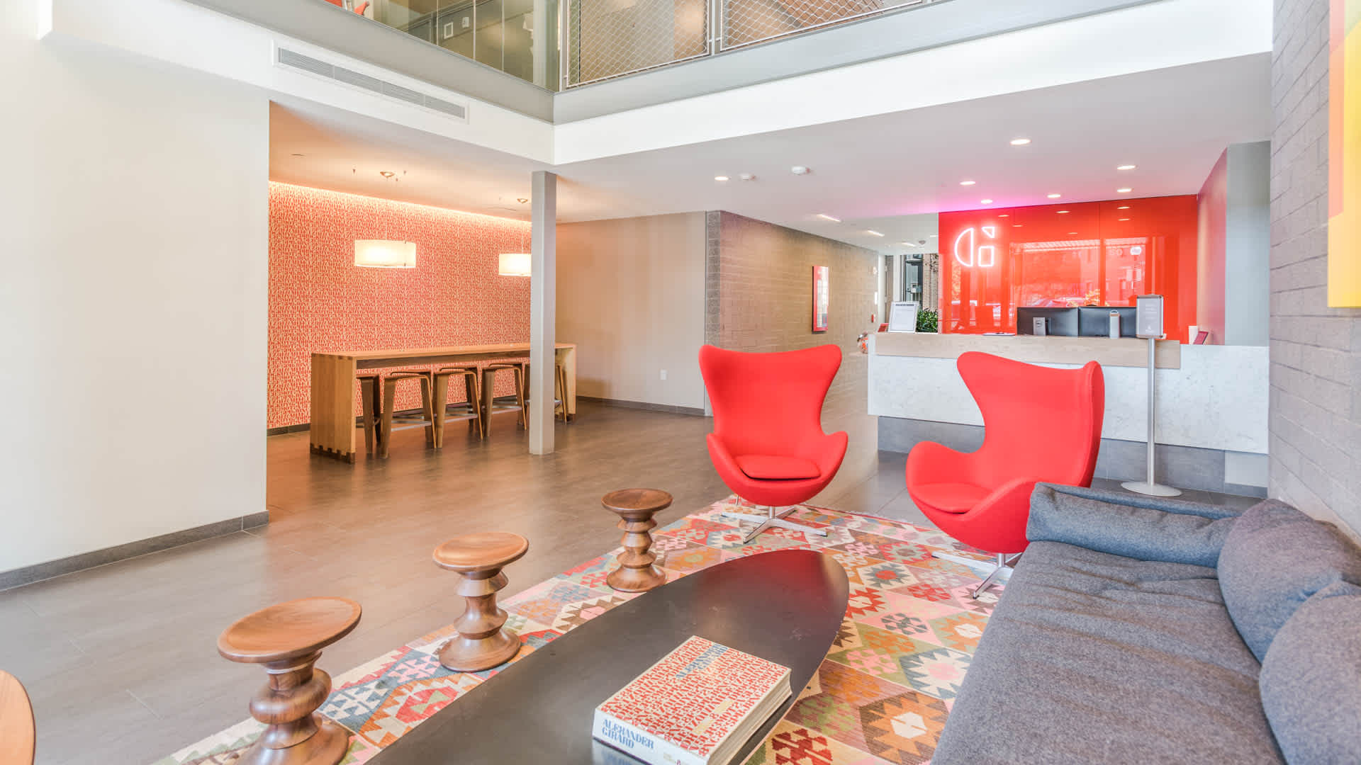 Girard apartments lobby