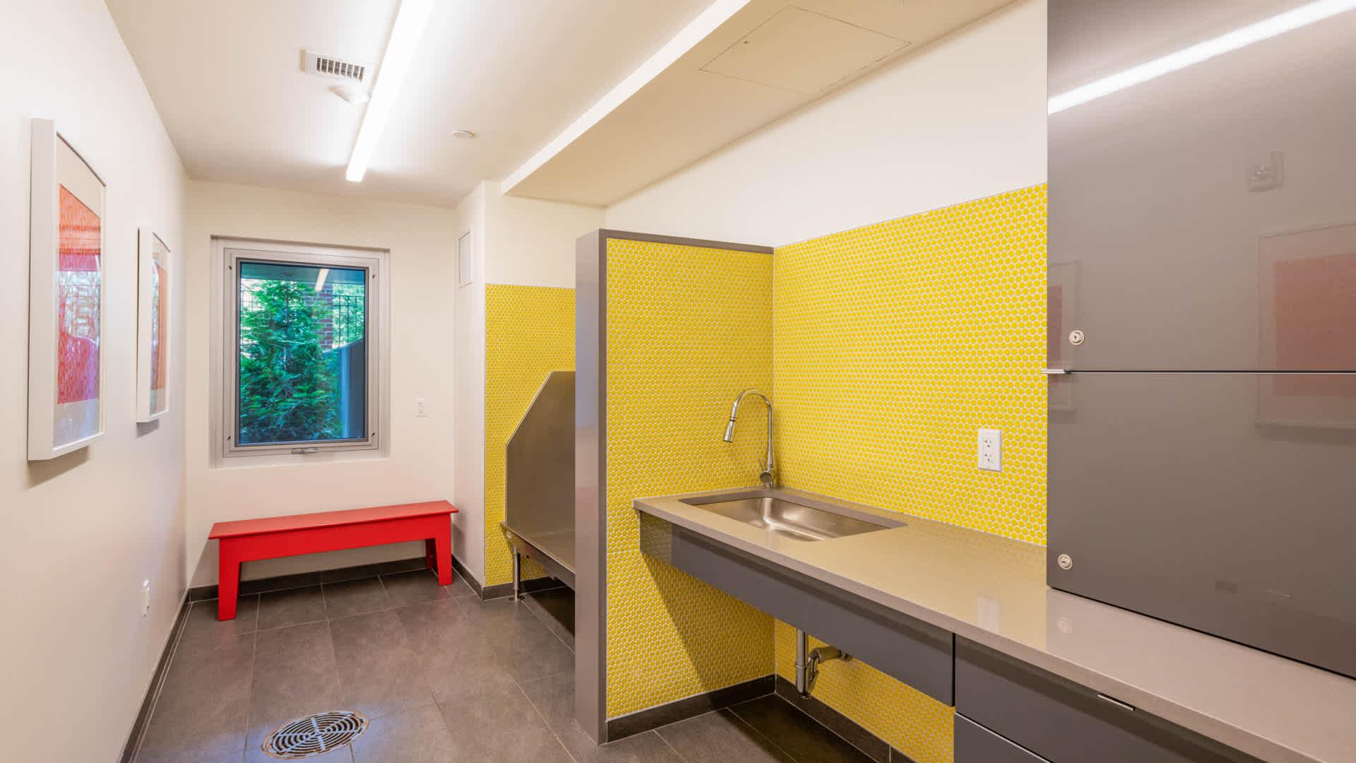 Girard apartments pet washing station