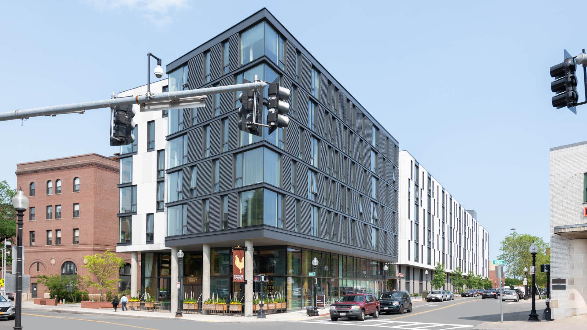 Girard apartments exterior
