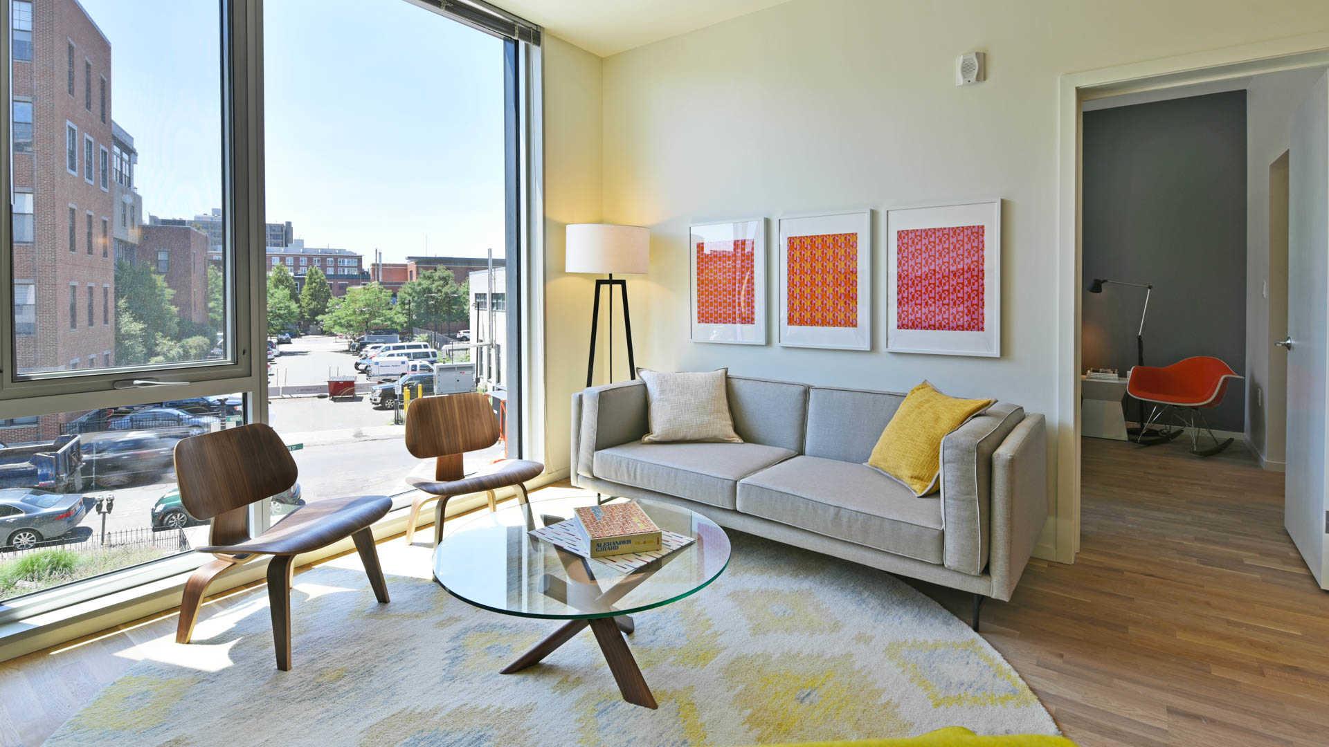 Girard apartments living room