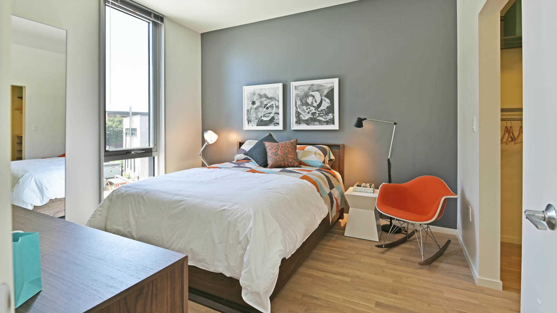 Girard apartments bedroom