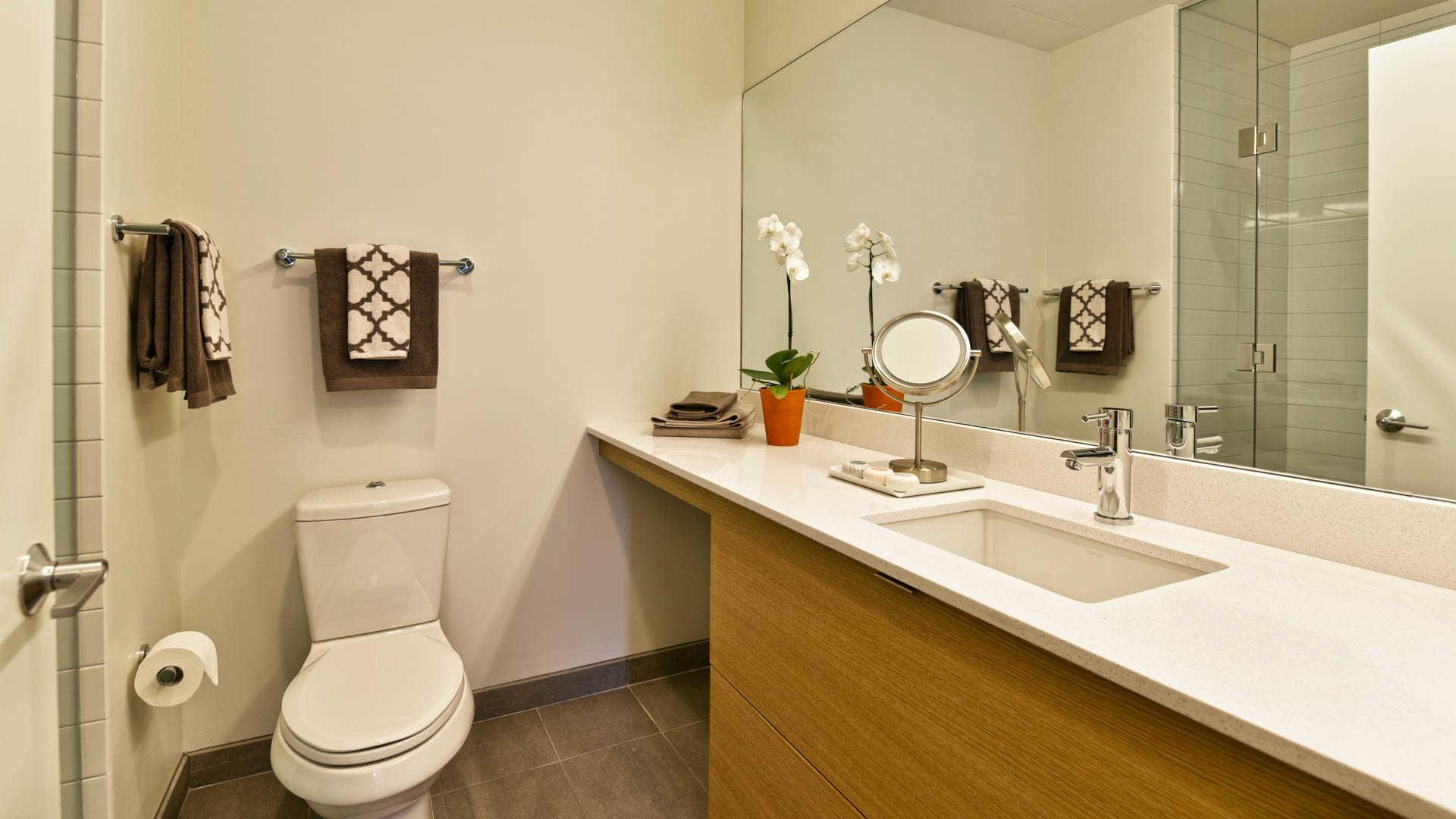 Girard apartments bathroom