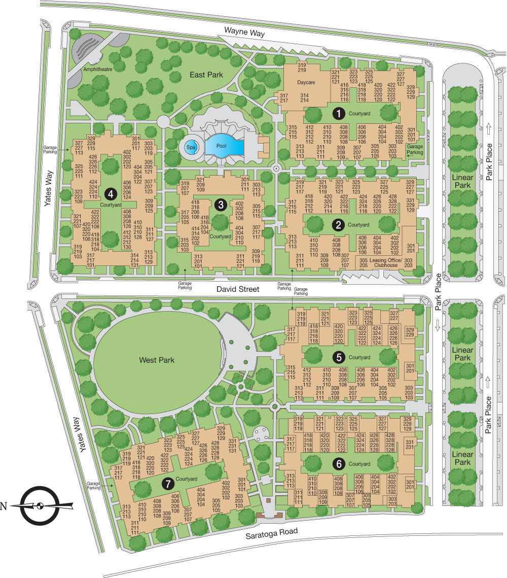 San Mateo High School Campus Map.Park Place At San Mateo Apartments San Mateo 1101 Park Place